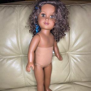 """18"""" My Life Cititoy African American Doll Curly"""
